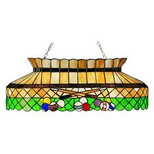 Tiffany 6 Light Billiard Light