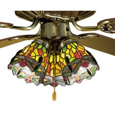 <strong>Meyda Tiffany</strong> Tiffany Hanginghead Dragonfly Fan Light Shade