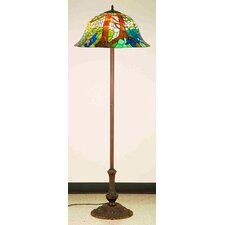 <strong>Meyda Tiffany</strong> Tiffany Landscape Floor Lamp