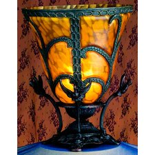"""Castle 13"""" H Table Lamp with Empire Shade"""