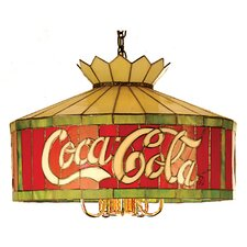 <strong>Meyda Tiffany</strong> Tiffany 6 Light Coca-Cola Pendant