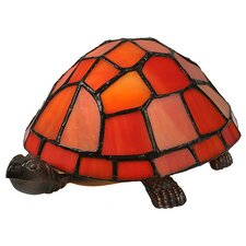 <strong>Meyda Tiffany</strong> Tiffany Turtle Accent Table Lamp