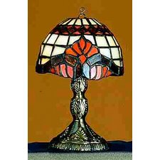<strong>Meyda Tiffany</strong> Victorian Tiffany Baroque Micro Table Lamp