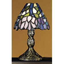 "Wisteria Tiffany Micro 5"" H Table Lamp with Empire Shade"