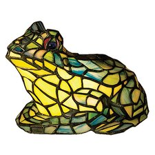 Tiffany Frog Accent Table Lamp