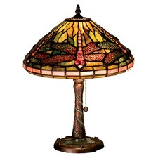 <strong>Meyda Tiffany</strong> Tiffany Dragonfly Accent Table Lamp
