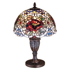Renaissance Rose Accent Table Lamp