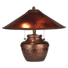 "Van Erp 19"" H Mica Table Lamp"