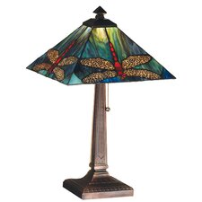 <strong>Meyda Tiffany</strong> Prairie Animals Dragonfly Table Lamp