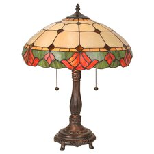 <strong>Meyda Tiffany</strong> Victorian Tiffany Yale Table Lamp