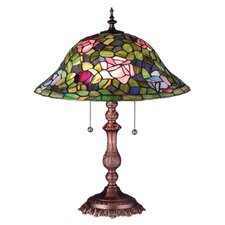 <strong>Meyda Tiffany</strong> Victorian Tiffany Rosebush Table Lamp
