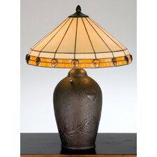 <strong>Meyda Tiffany</strong> Rustic Lodge Acorn Jewel Table Lamp