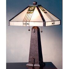 <strong>Meyda Tiffany</strong> Pasadena Rose Table Lamp