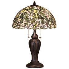 "Sweet Pea 24"" H Table Lamp with Bowl Shade"
