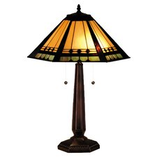 "Albuquerque 25"" H Table Lamp with Empire Shade"