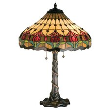 <strong>Meyda Tiffany</strong> Colonial Tulip Table Lamp