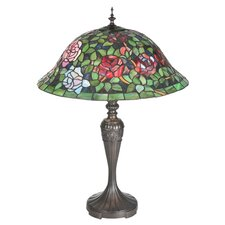 <strong>Meyda Tiffany</strong> Tiffany Rosebush Table Lamp
