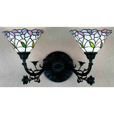Daffodil Bell 2 Light Wall Sconce