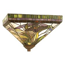 Lady Slippers 2 Light Wall Sconce