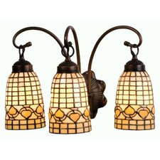 Tiffany Acorn 3 Light Vanity Light