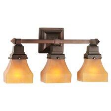 Bungalow 3 Light Vanity Light