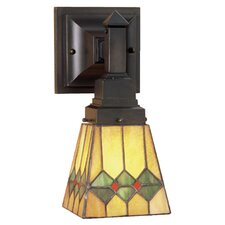 Martini Mission 1 Light Wall Sconce