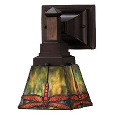 <strong>Meyda Tiffany</strong> Prairie Dragonfly 1 Light Wall Sconce