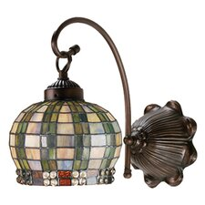 <strong>Meyda Tiffany</strong> Jeweled Basket 1 Light Wall Sconce