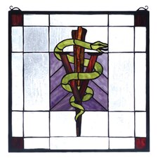 Veterinary Stained Glass Window