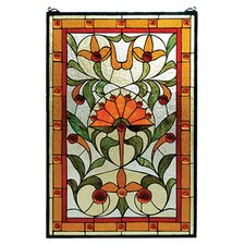 Victorian Picadilly Stained Glass Window