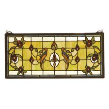 Victorian Lancaster Stained Glass Window