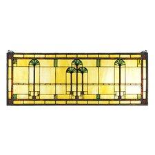 Tiffany Ginkgo Stained Glass Window