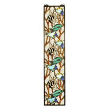 Tiffany Animals Tropical Fish Stained Glass Window
