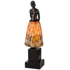 "Silhouette Jayne Swayne 16"" H Table Lamp"