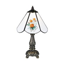Floral Country Rose Bouquet Mini Table Lamp