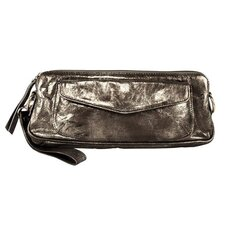 <strong>Latico Leathers</strong> Art Raven Cross-Body Clutch / Wristlet