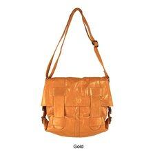 Mimi in Memphis Regina Large Cross-Hatch Shoulder Bag