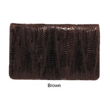 <strong>Latico Leathers</strong> Amazonia Ginger Flap Over Wallet