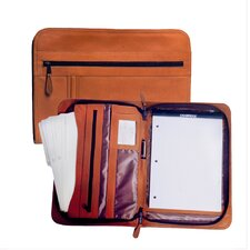 <strong>Latico Leathers</strong> Heritage Deluxe Zippered Portfolio