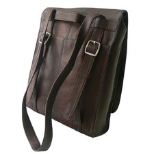 <strong>Latico Leathers</strong> Heritage Convertible Laptop Shoulder Bag/Backpack