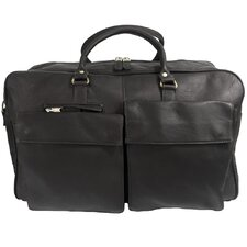 "Heritage 21"" Leather Prime Time Travel Duffel"