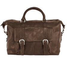 "Heritage 16"" Leather Captain's Weekender"