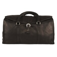 "Heritage 21"" Leather Coachman Weekender"