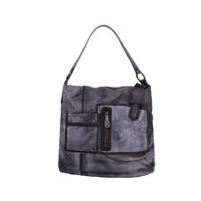 Brushstroke Winnie Triple Pocket Medium Shoulder Bag