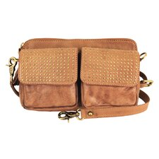 Mimi in Memphis Delilah Industry Dual Flap Pocket Cross-Body