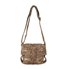 Avion Gloria Medium Cross-Hatch Shoulder Bag