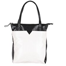 <strong>Latico Leathers</strong> ColorBlock Ingrid Tote Bag