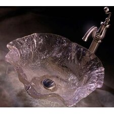 Alina Art Glass Vessel Bathroom Sink