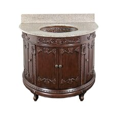 "Semi-Circle 36"" Bathroom Vanity Set"