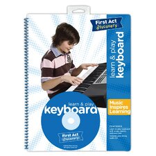 <strong>First Act</strong> Learn and Play Keyboard Book with CD